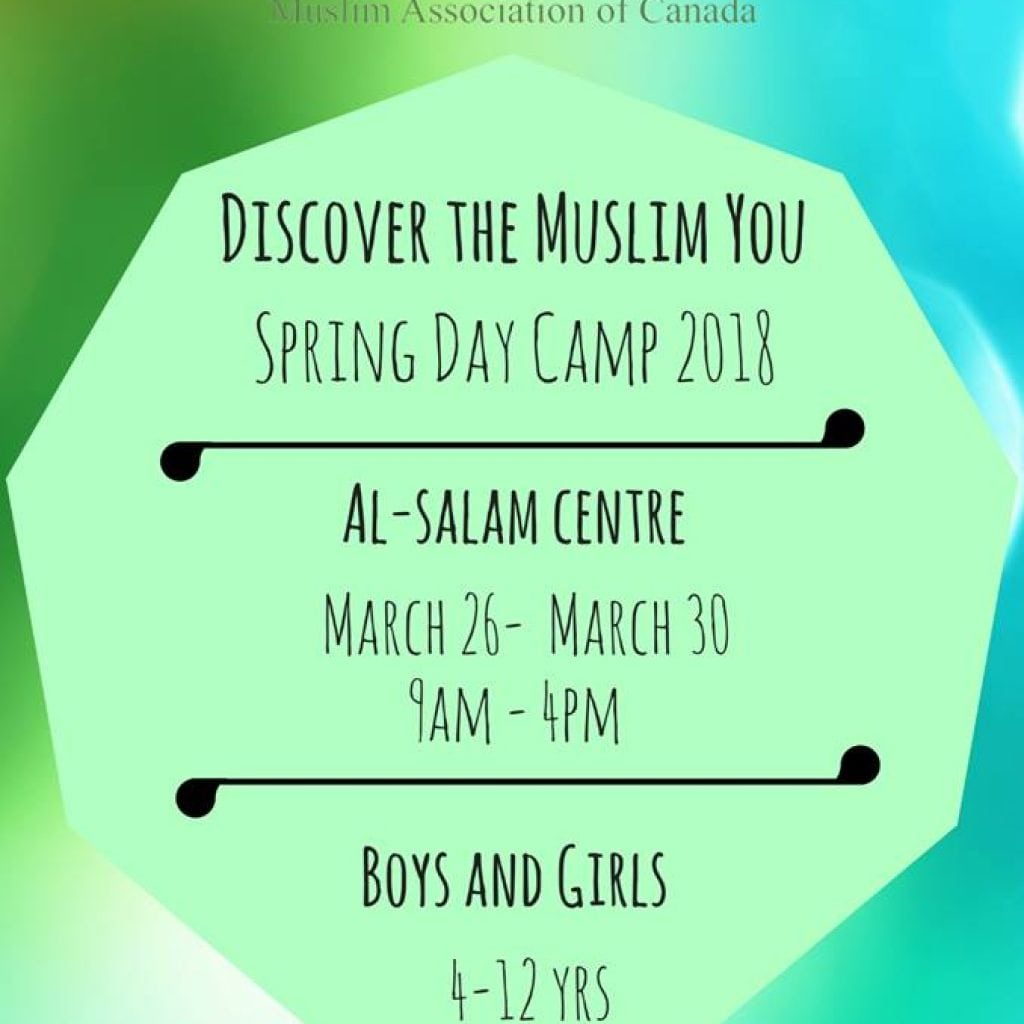 MAC Spring Day Camp 2018